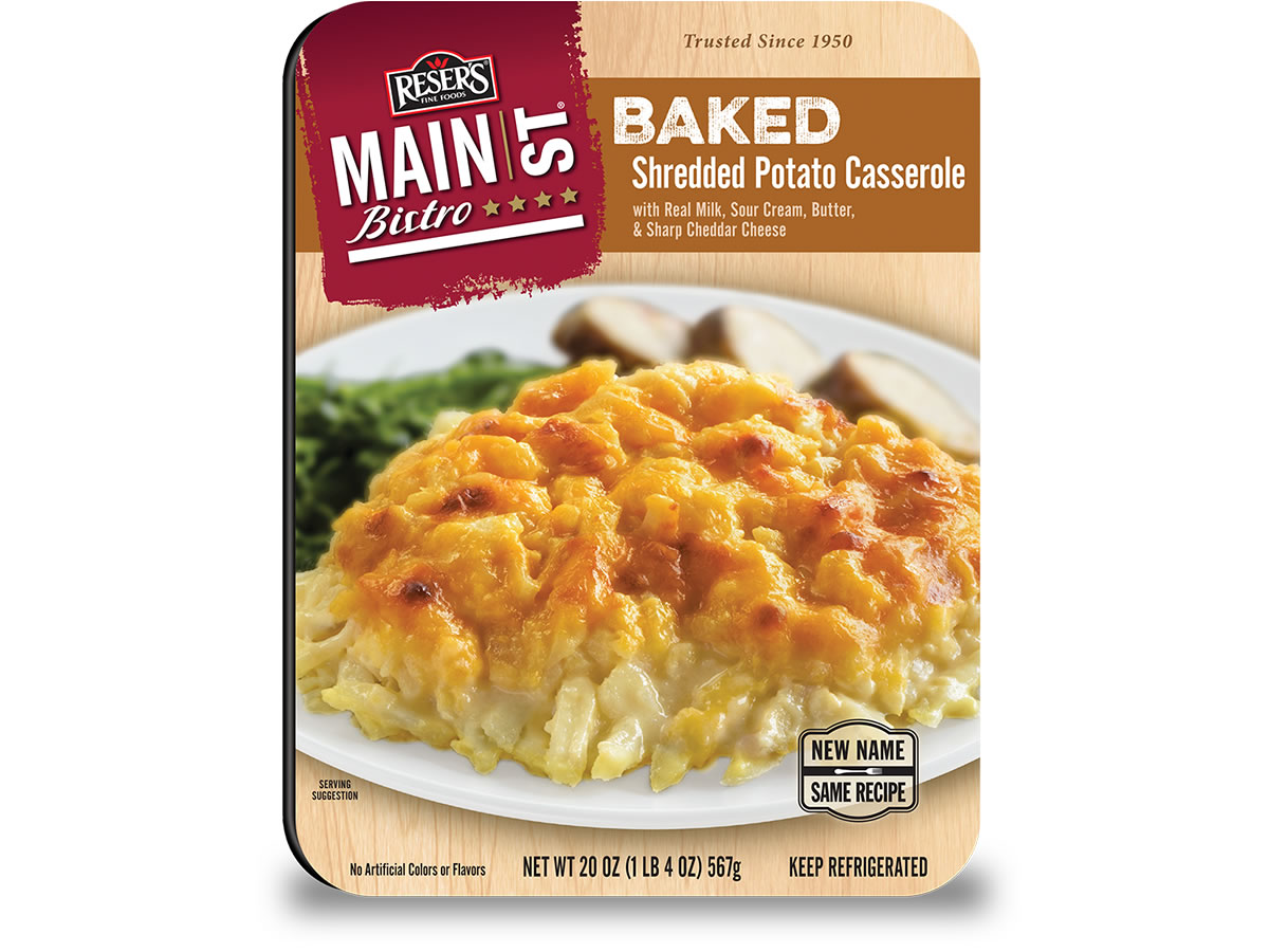 Baked Shredded Potato Casserole