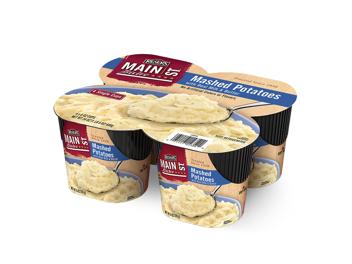 Mashed Potatoes 4-Pack Singles
